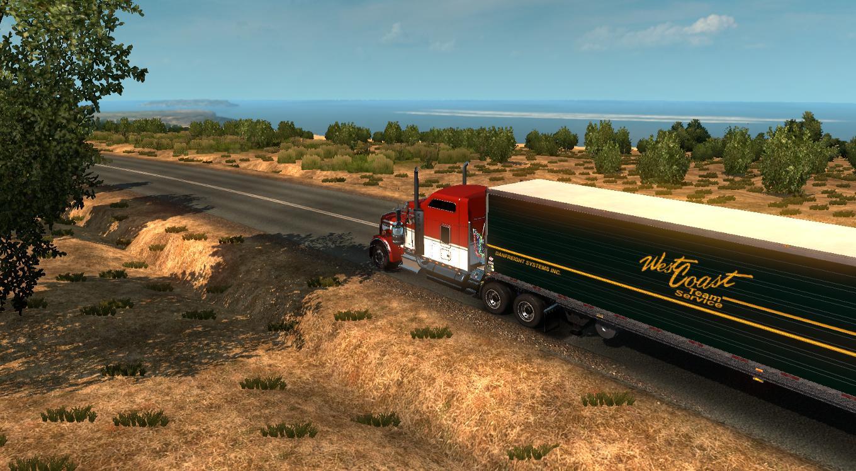 Australia Map Ets2.Australia Tasmania Map V5 2 Mod Euro Truck Simulator 2 Mods