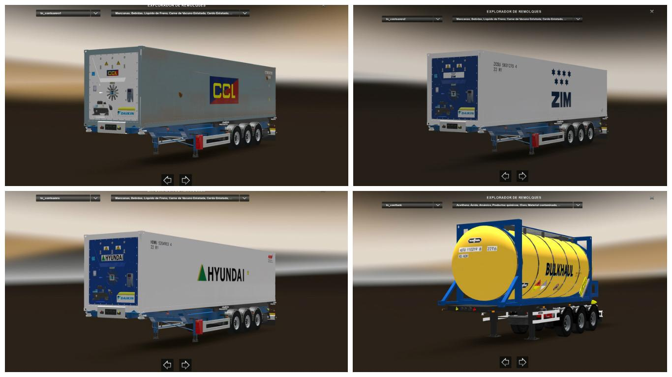 container pack v1 0 for ets 2  euro truck simulator 2 mods