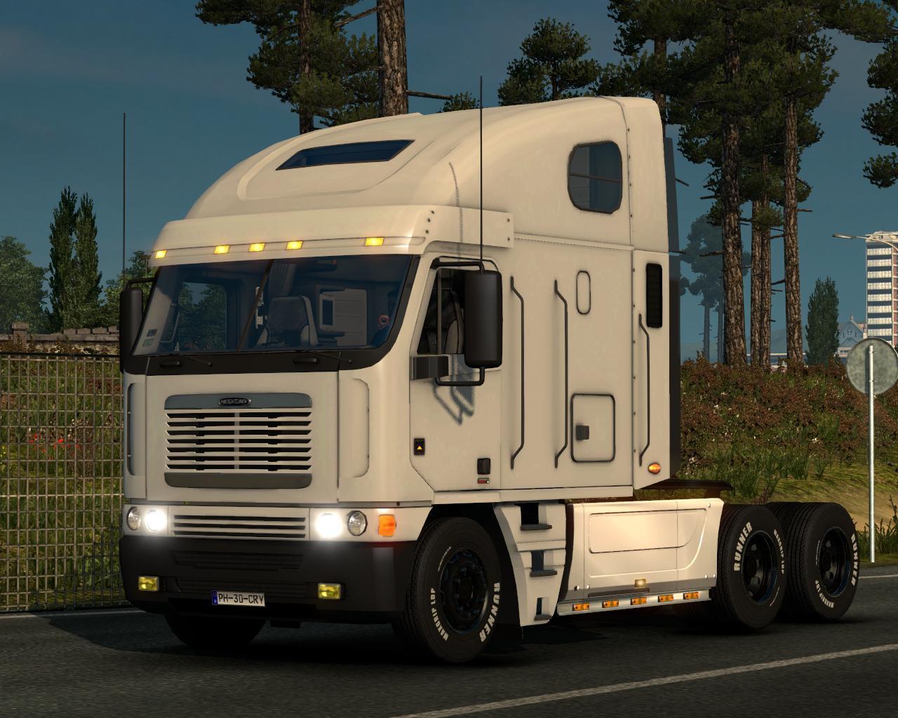 Freightliner Argosy Deluxe 1 22 X Truck Euro Truck