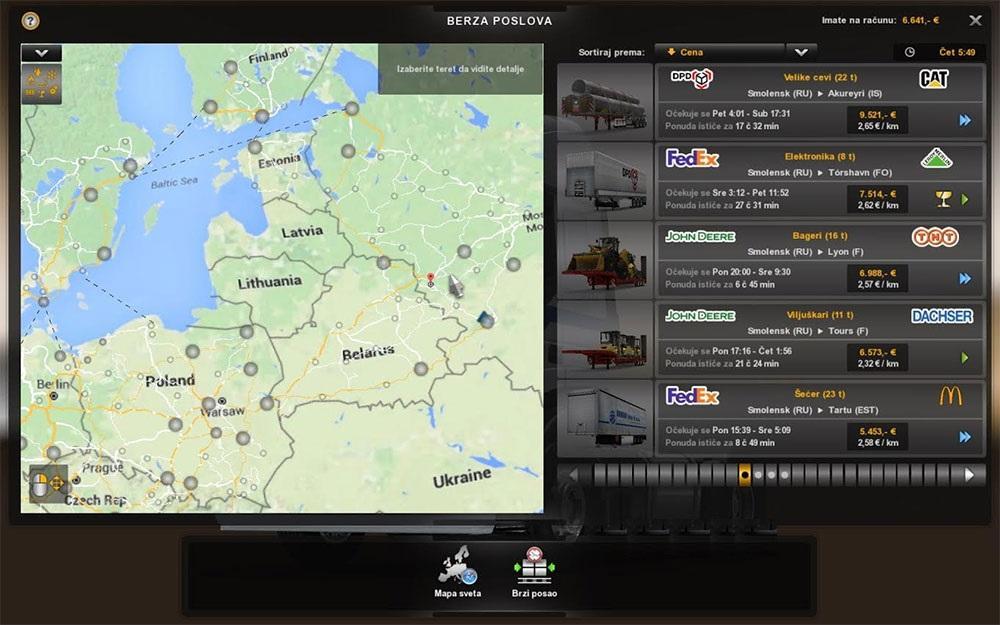 GOOGLE MAPS TERRAIN MAP BY GIBANICA ETS2 -Euro Truck