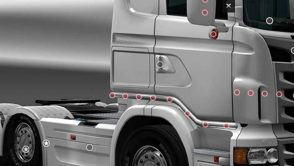 Gtm Rjl Cab Sidebars Mod Euro Truck Simulator 2 Mods