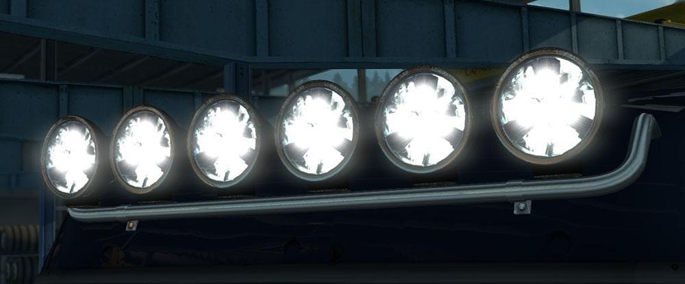 hella luminator led lamps euro truck simulator 2 mods. Black Bedroom Furniture Sets. Home Design Ideas