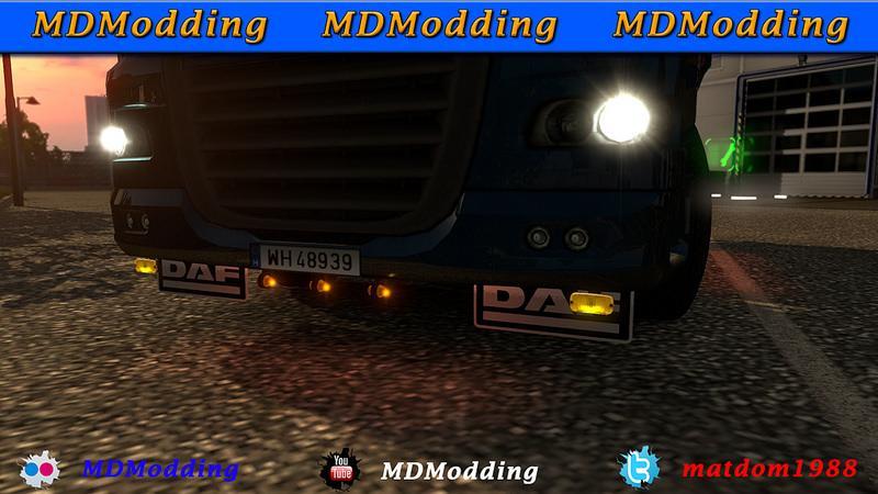 Lobar Daf 105 Scs And 50keda 1 22 Mod Euro Truck