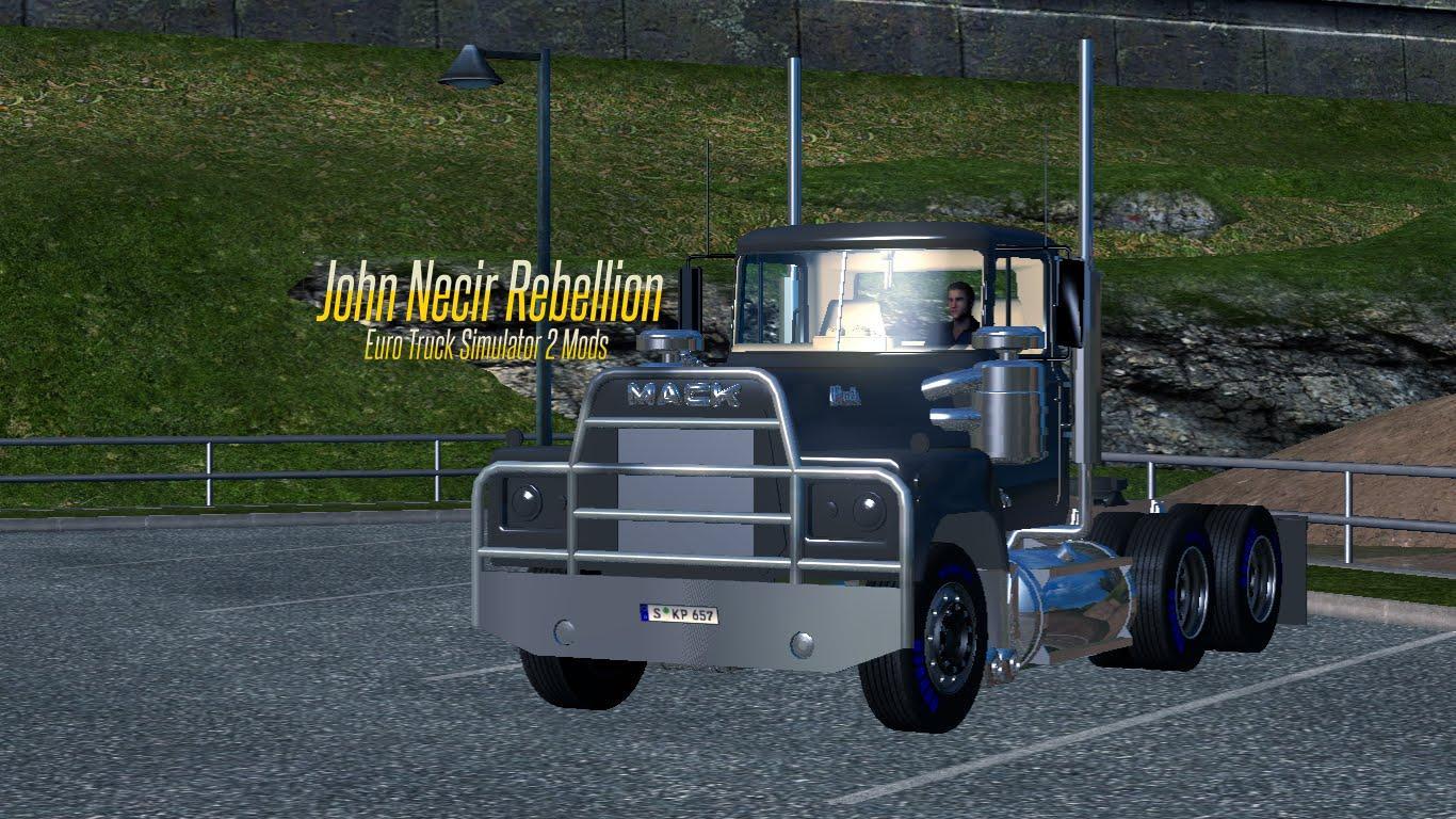 Mack Rs700 122x Truck Euro Simulator 2 Mods 3406e Cat Engine Timing Diagrams
