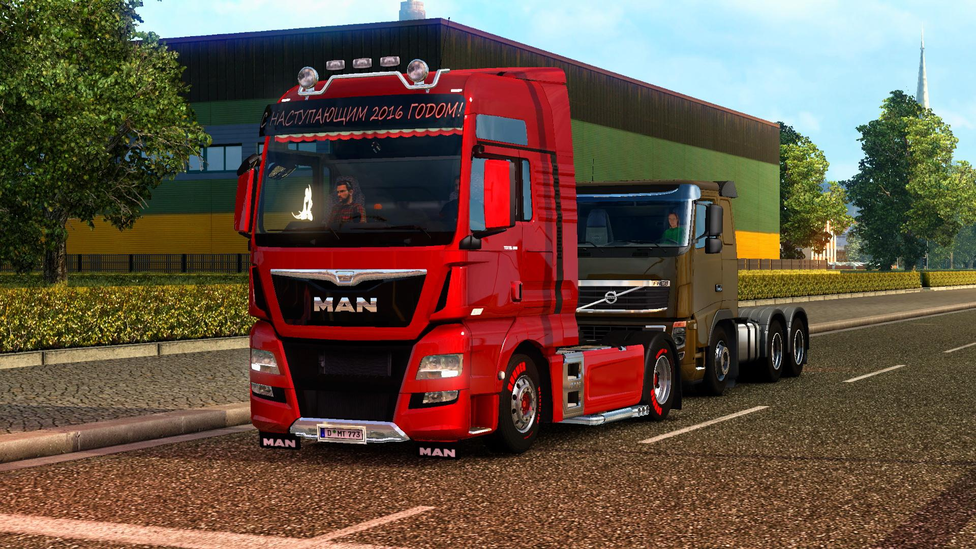 Seat Skins For Trucks >> MAN TGX AND TGX EURO 6 REWORKED (1.22.X) Truck -Euro Truck Simulator 2 Mods