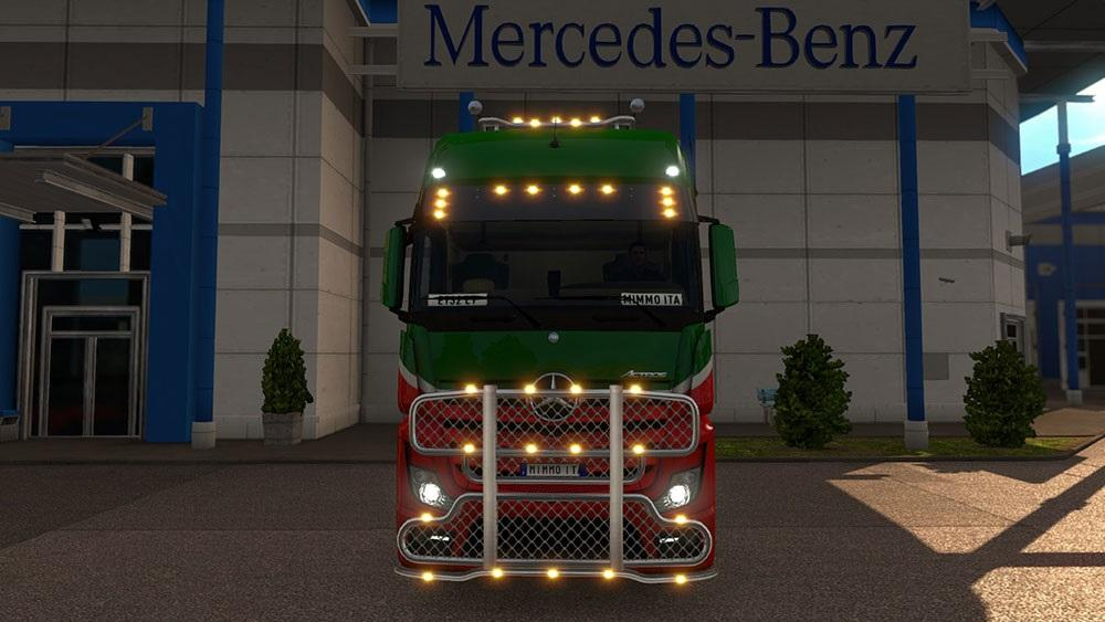 Used Truck Dealerships >> MERCEDES ACTROS 2014 LIGHT PLUS MULTIPLAYER READY V2.0 Mod ...