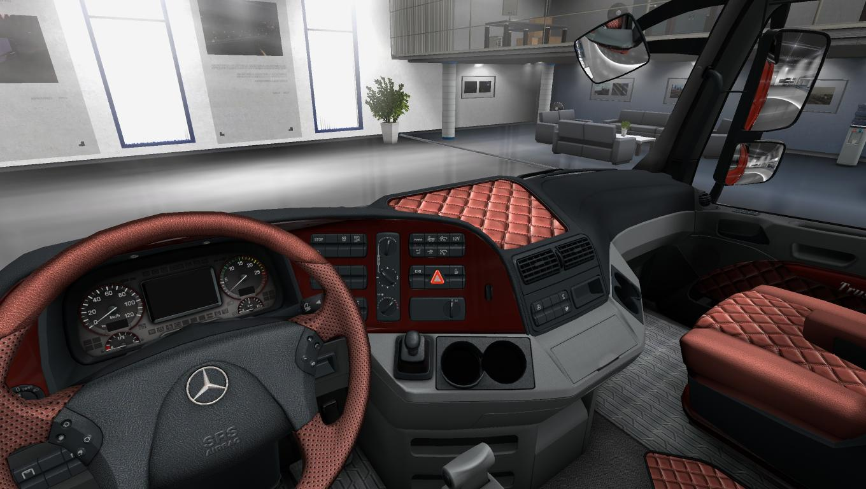 Mercedes Actros Mp3 Paint Interior 1 22 X Mod Euro Truck