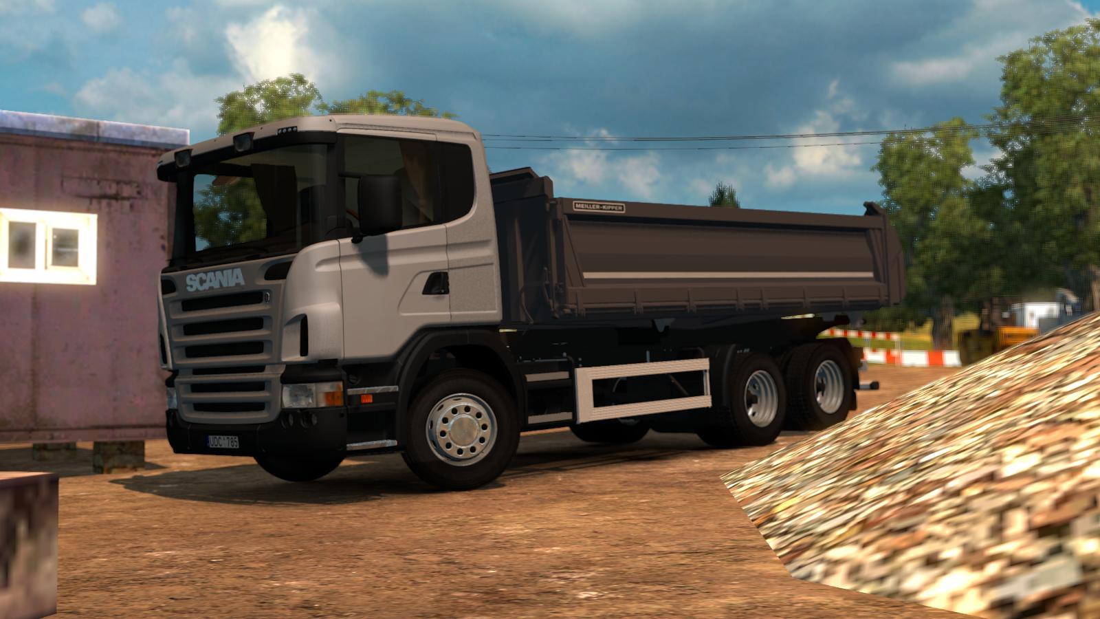 Scania Dumper 6x4 V1 0 Truck Euro Truck Simulator 2 Mods