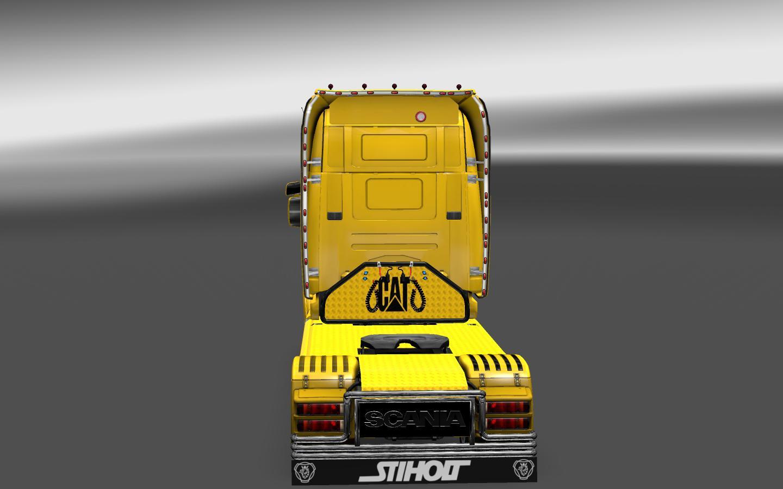 SCANIA T CAT & CAT RUST Skins (3) - ETS 2 Mods | Euro Truck