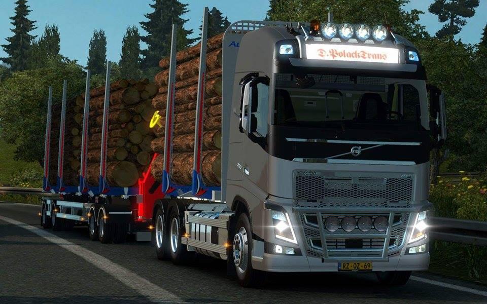 Скачать мод на volvo на euro truck simulator 2 на