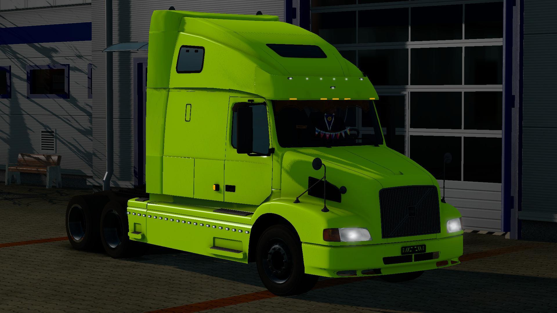 VOLVO VNL 660 1.21 Truck -Euro Truck Simulator 2 Mods