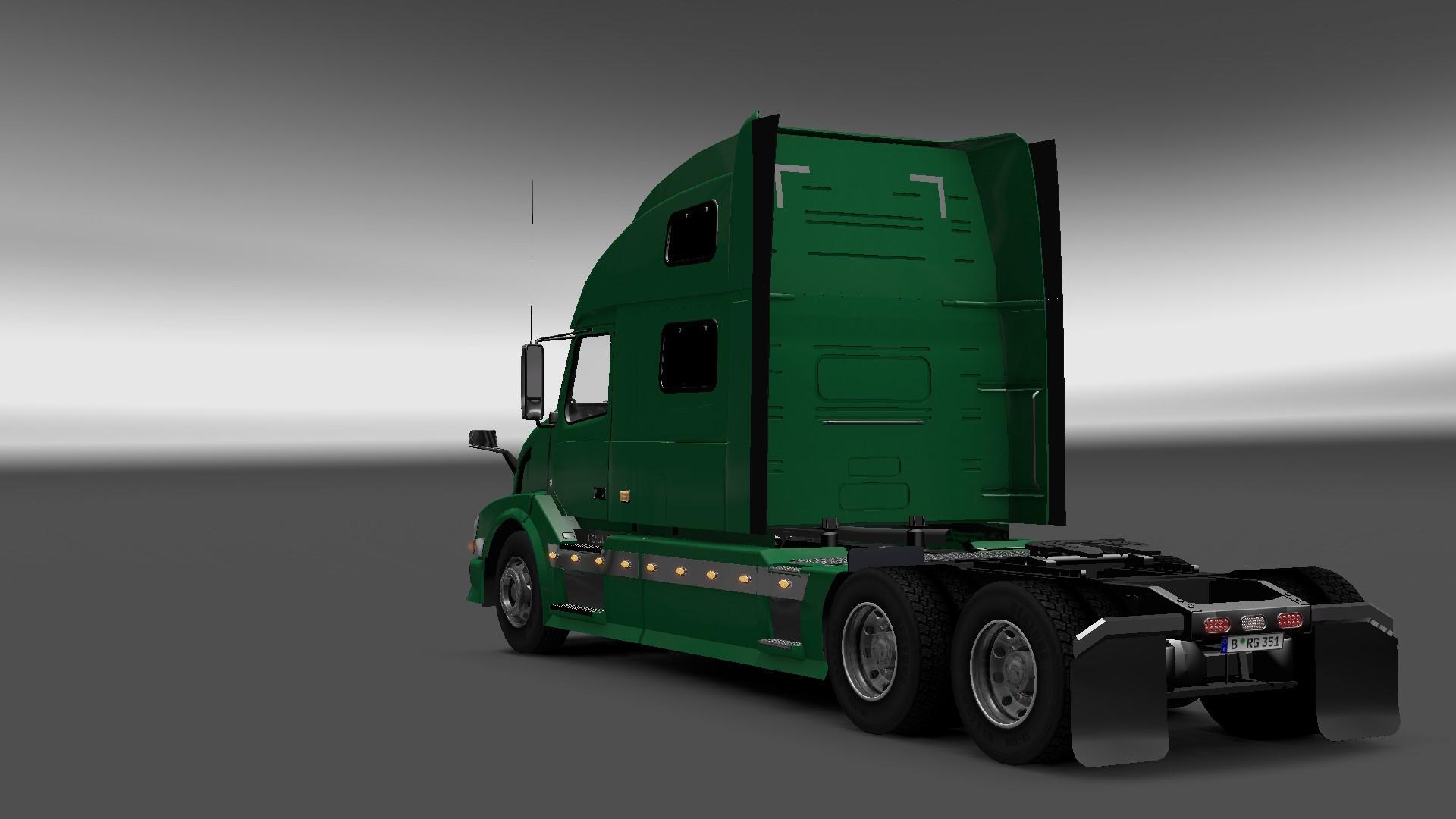 VOLVO VNL780 Truck + INTERIOR V3.1 -Euro Truck Simulator 2 Mods