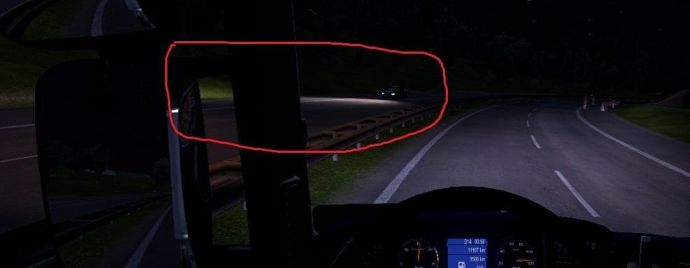 Ai Cars Headlamp Power Full Mod Euro Truck Simulator 2 Mods