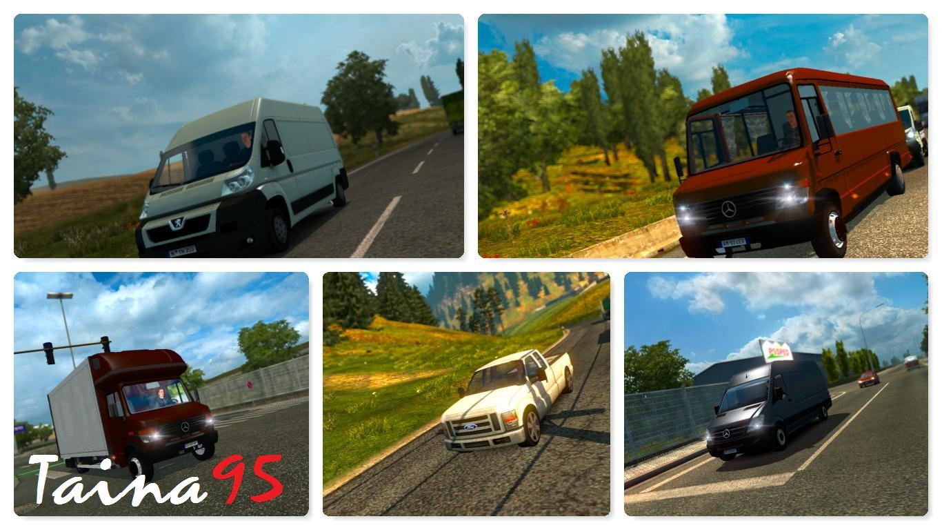 AI TRAFFIC PACK MOD V1 22 For ETS2 -Euro Truck Simulator 2 Mods