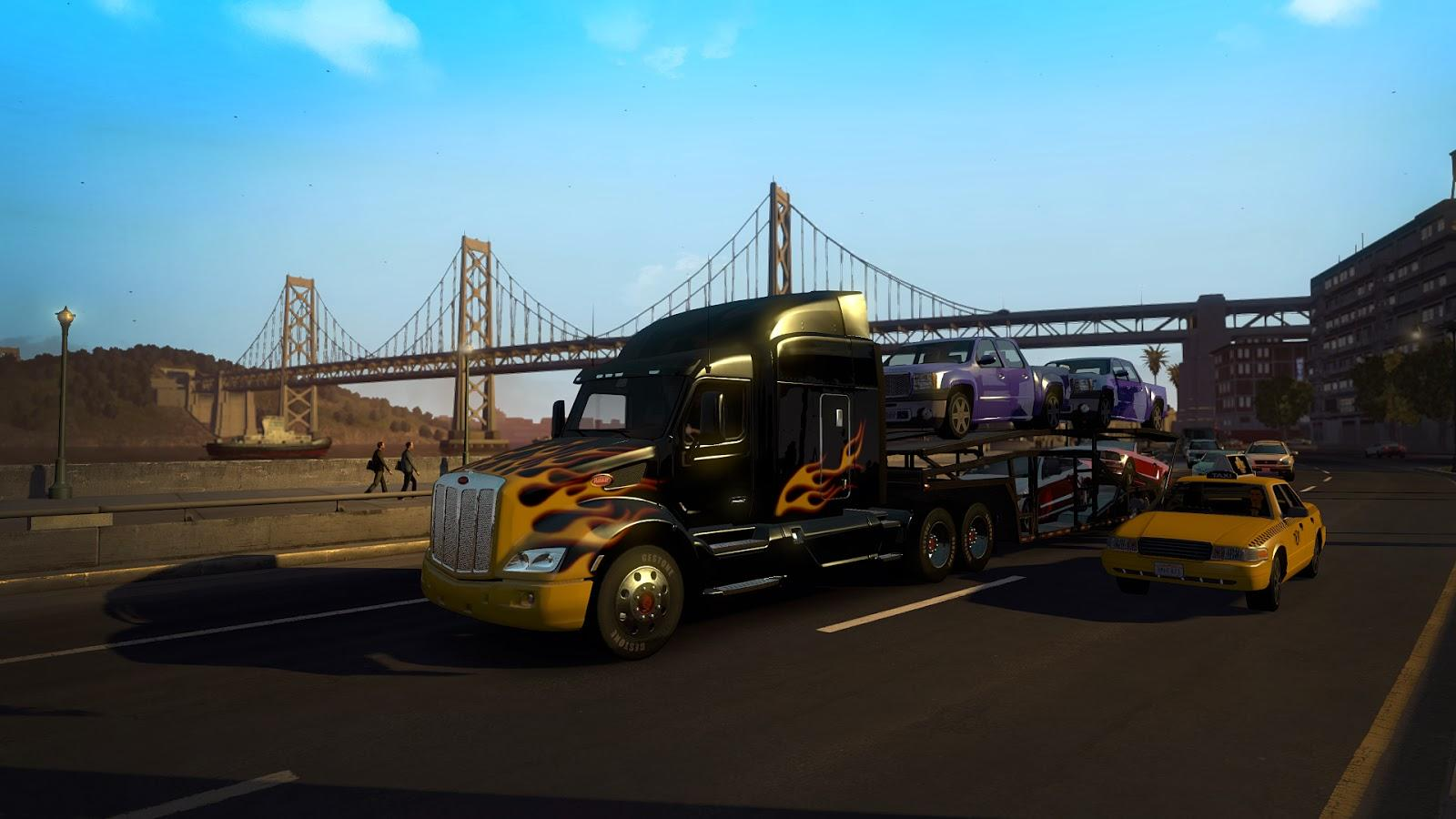 Games Like Euro Truck Simulator  With Cars