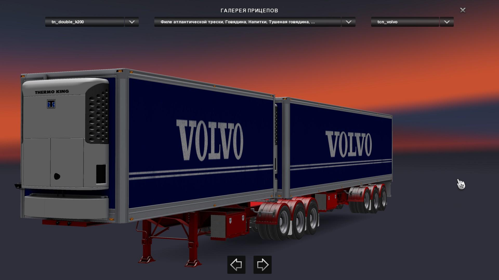 Euro truck simulator pack trailer