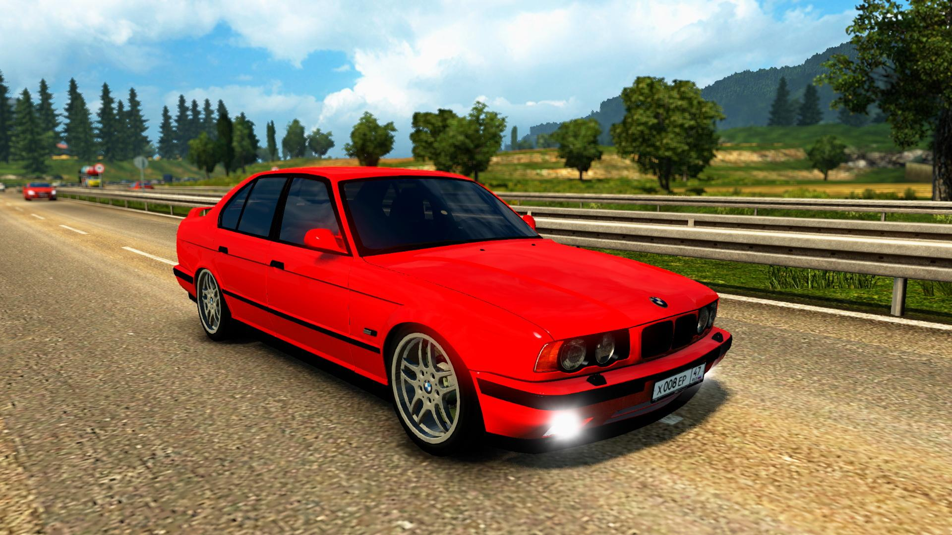 bmw e34 car interior v1 0 euro truck simulator 2 mods. Black Bedroom Furniture Sets. Home Design Ideas