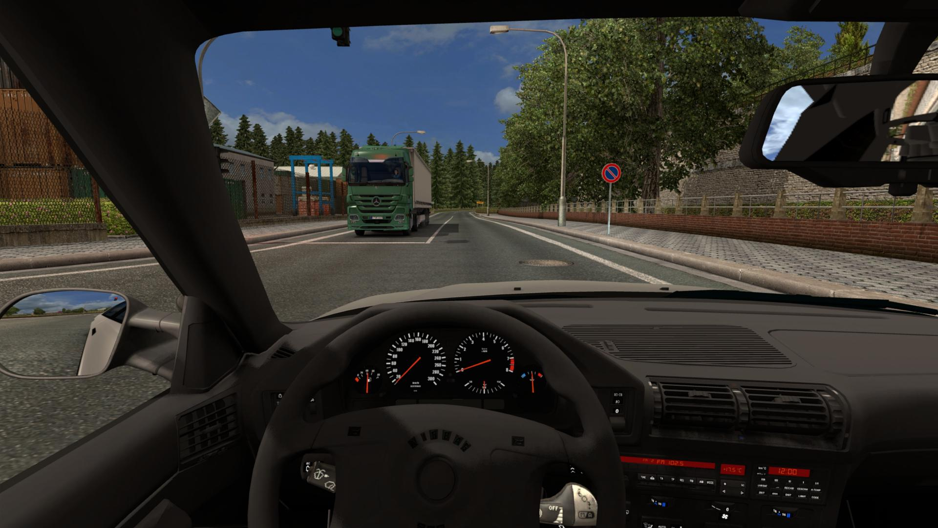 Bmw E34m5 1 22 Car Euro Truck Simulator 2 Mods