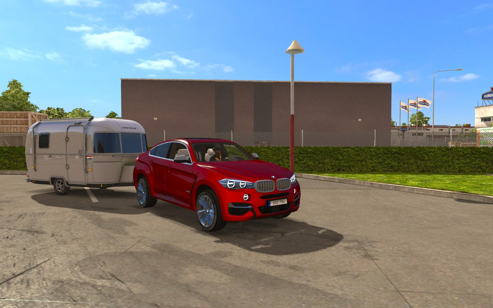 bmw x6 m v2 0 car euro truck simulator 2 mods. Black Bedroom Furniture Sets. Home Design Ideas