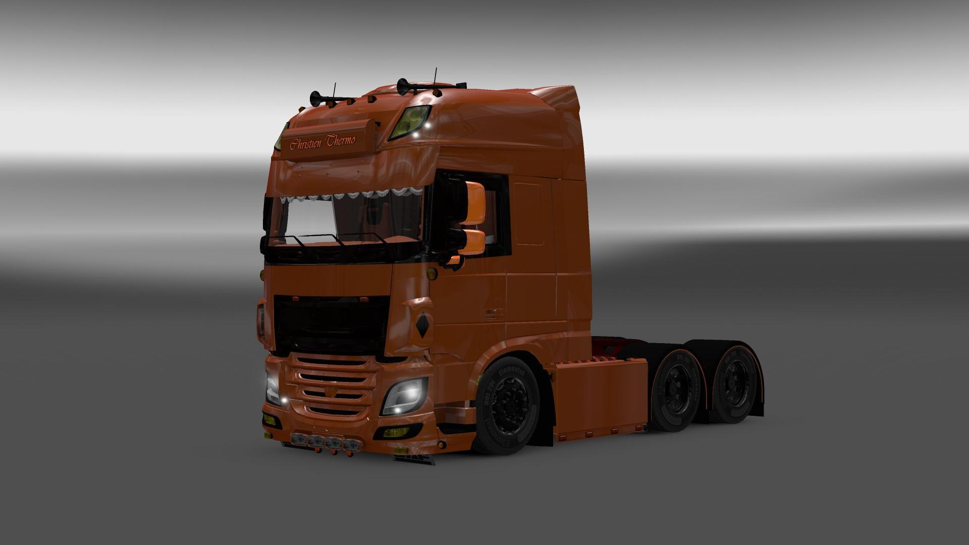 Euro truck simulator 2 mods daf xf 105 james s hislop pictures to pin -  6 Euro Truck Simulator 2 Mods Daf Xf 105 James S Hislop Pictures To Pin