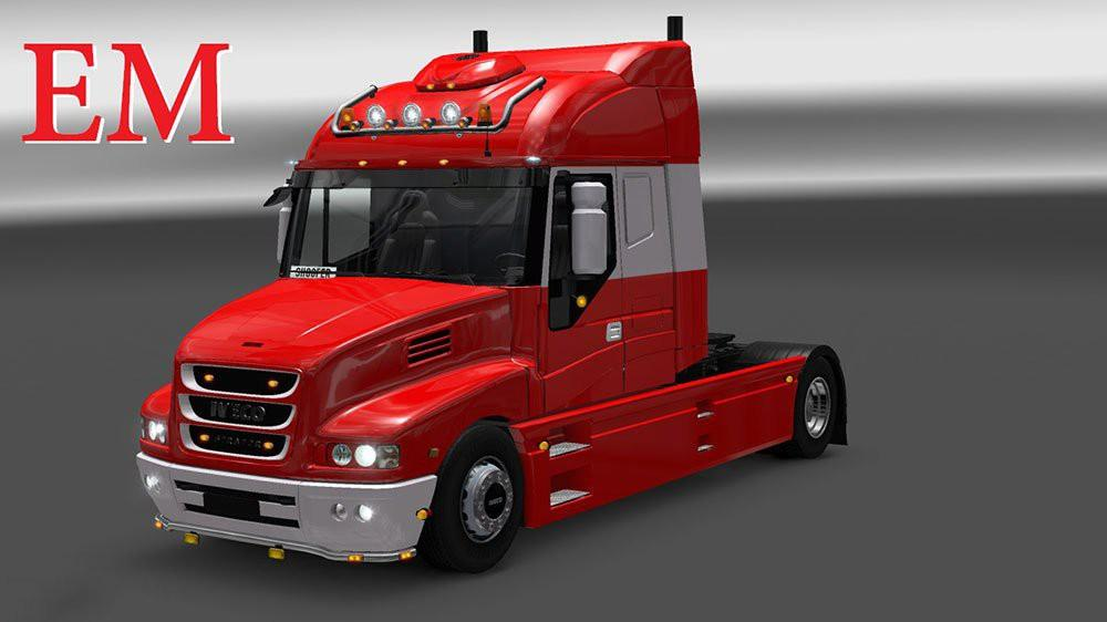 Iveco strator and volvo fh 2013 tuning euro truck simulator 2 mods - Iveco Strator And Volvo Fh 2013 Tuning Mod Euro Truck
