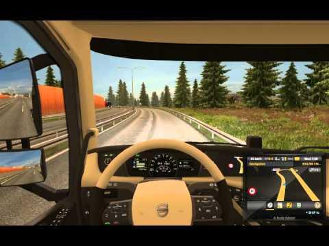 euro truck simulator 2 how to drive on snow