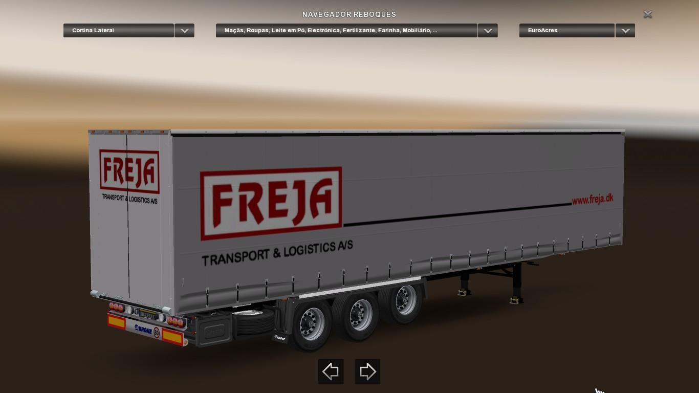 Krone Trailers Skin Pack Ets2 Euro Truck Simulator 2 Mods