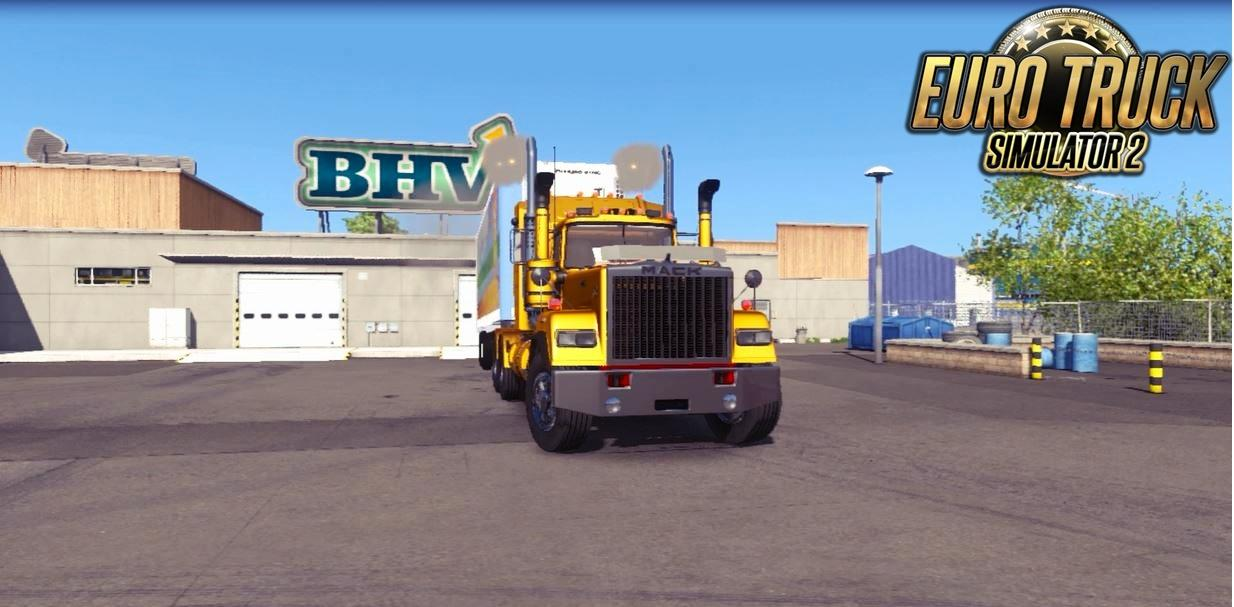 MACK SUPERLINER DELUXE 1 22 Truck -Euro Truck Simulator 2 Mods