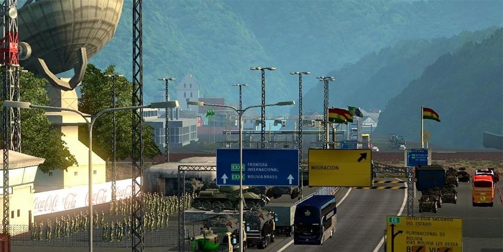 Peru Euro Truck Simulator Mods - Argentina map ets2