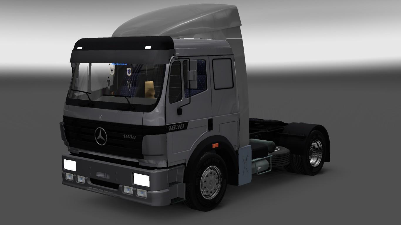 MERCEDES BENZ 1838 1.22 Truck -Euro Truck Simulator 2 Mods