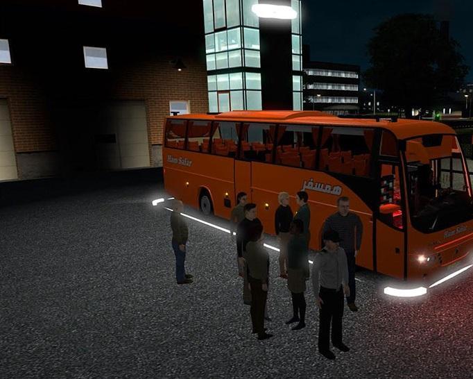 PASSENGER MOD V1 2 ETS2 -Euro Truck Simulator 2 Mods