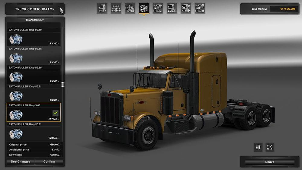 peterbilt 379 engine sound mod ets2