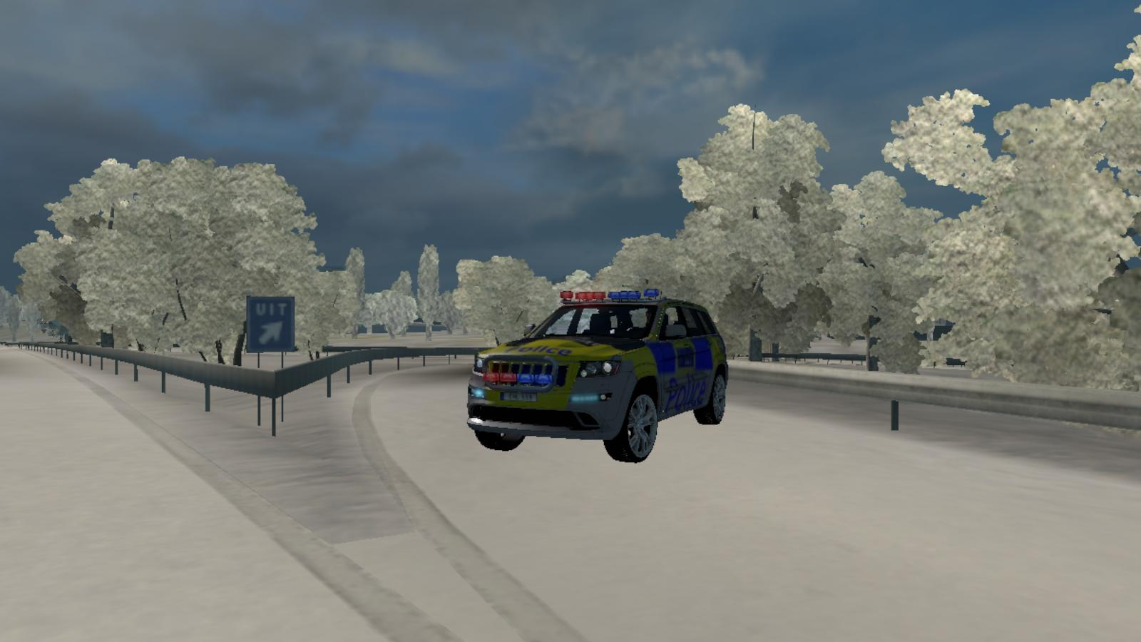Police Jeep Uk 1 22 X Car Euro Truck Simulator 2 Mods