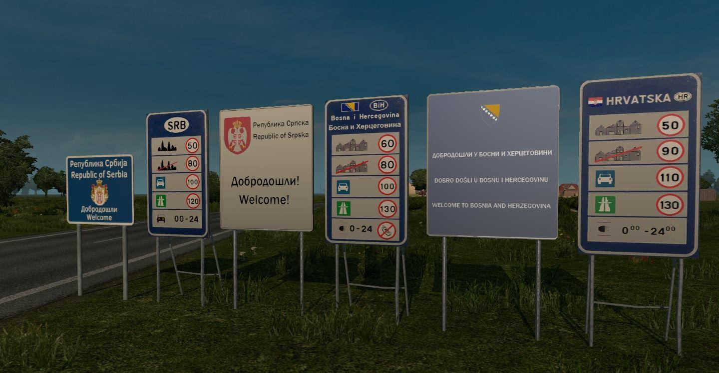 PROJECT BALKANS 1 02: PROMODS ADDON FOR 1 22 X ETS2 -Euro