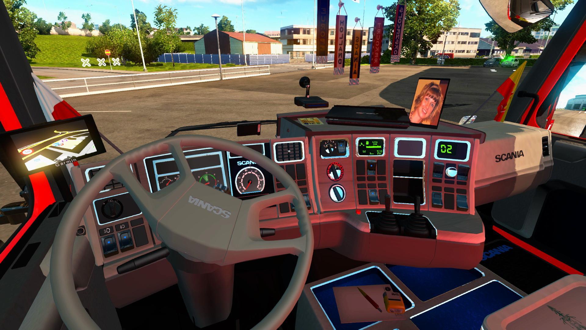 SCANIA 143M Truck + INTERIOR EDIT BY EKUALIZER V3.3 -Euro Truck Simulator 2 Mods