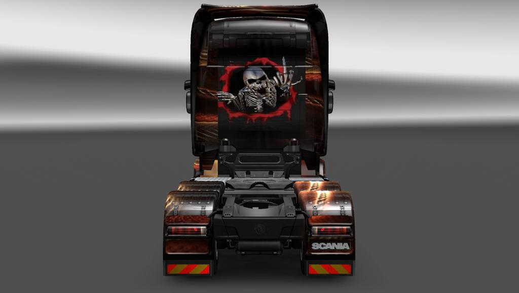 SCANIA R FENTEZI SKIN 1 22 Mod -Euro Truck Simulator 2 Mods