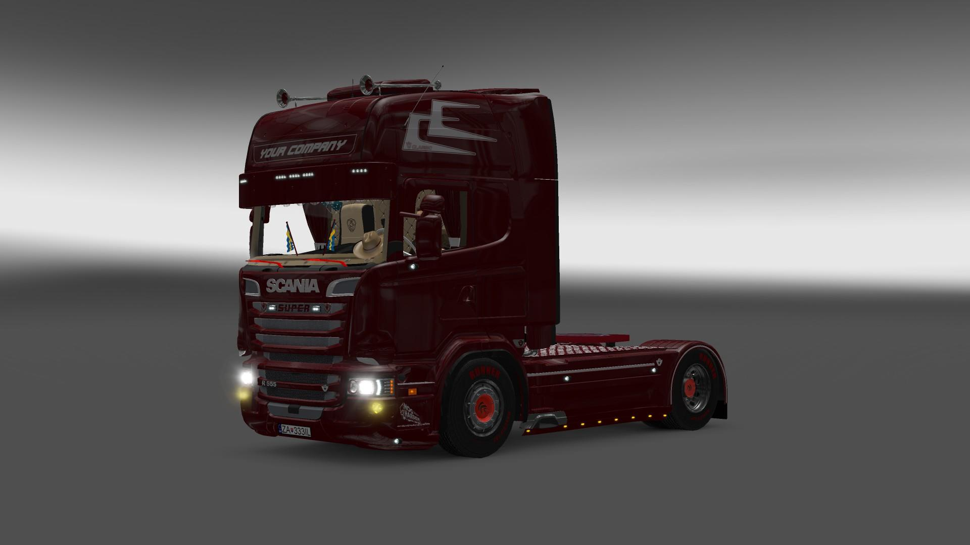 Volvo Truck Parts >> SCANIA R555 1.22.X Truck -Euro Truck Simulator 2 Mods