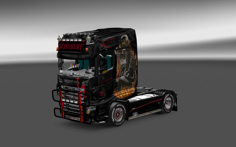 Schubert Skin For All Scania Ets 2 Euro Truck Simulator 2