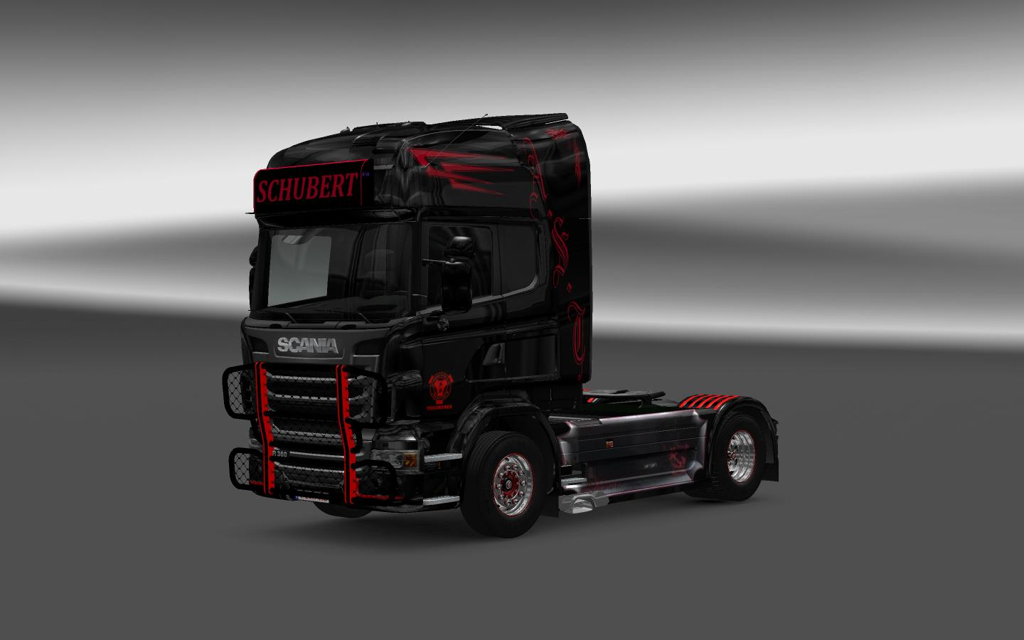 Schubert Skin For All Scania Ets 2 Euro Truck Simulator 2