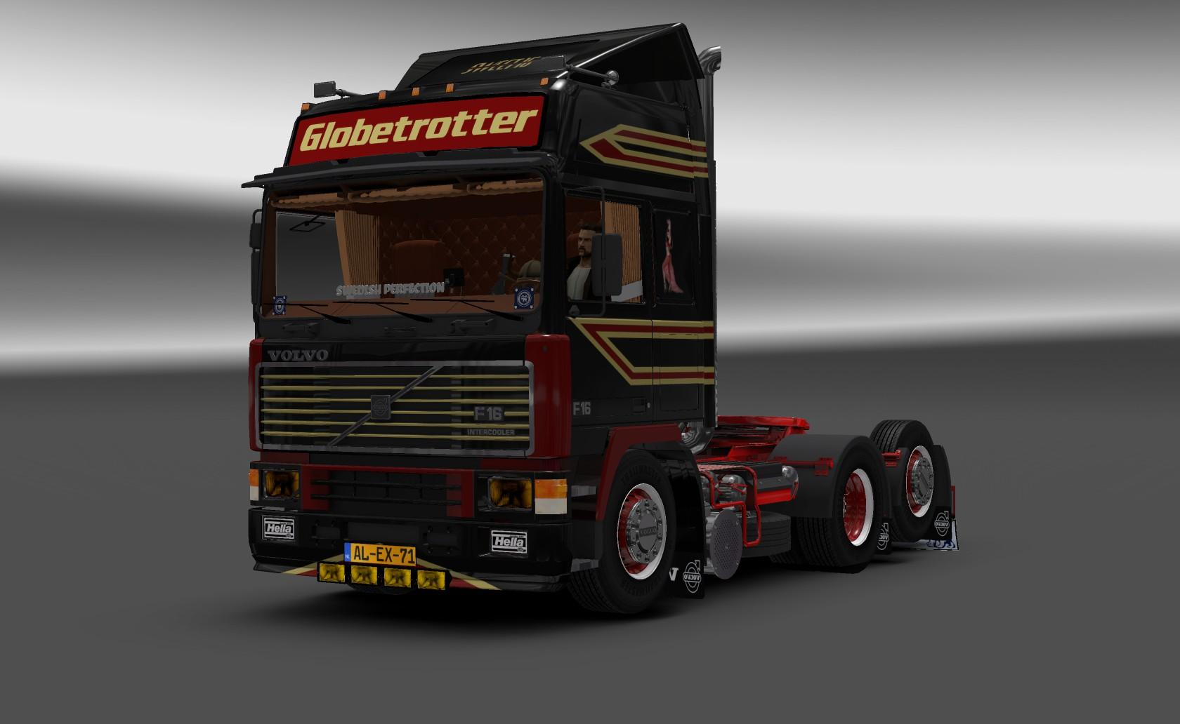 volvo f16 truck euro truck simulator 2 mods. Black Bedroom Furniture Sets. Home Design Ideas