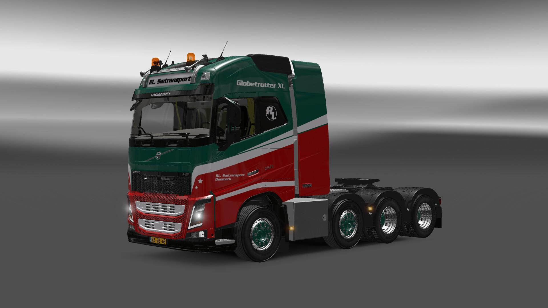 Volvo Fh 2013 8x4 1 22 Truck Euro Truck Simulator 2 Mods