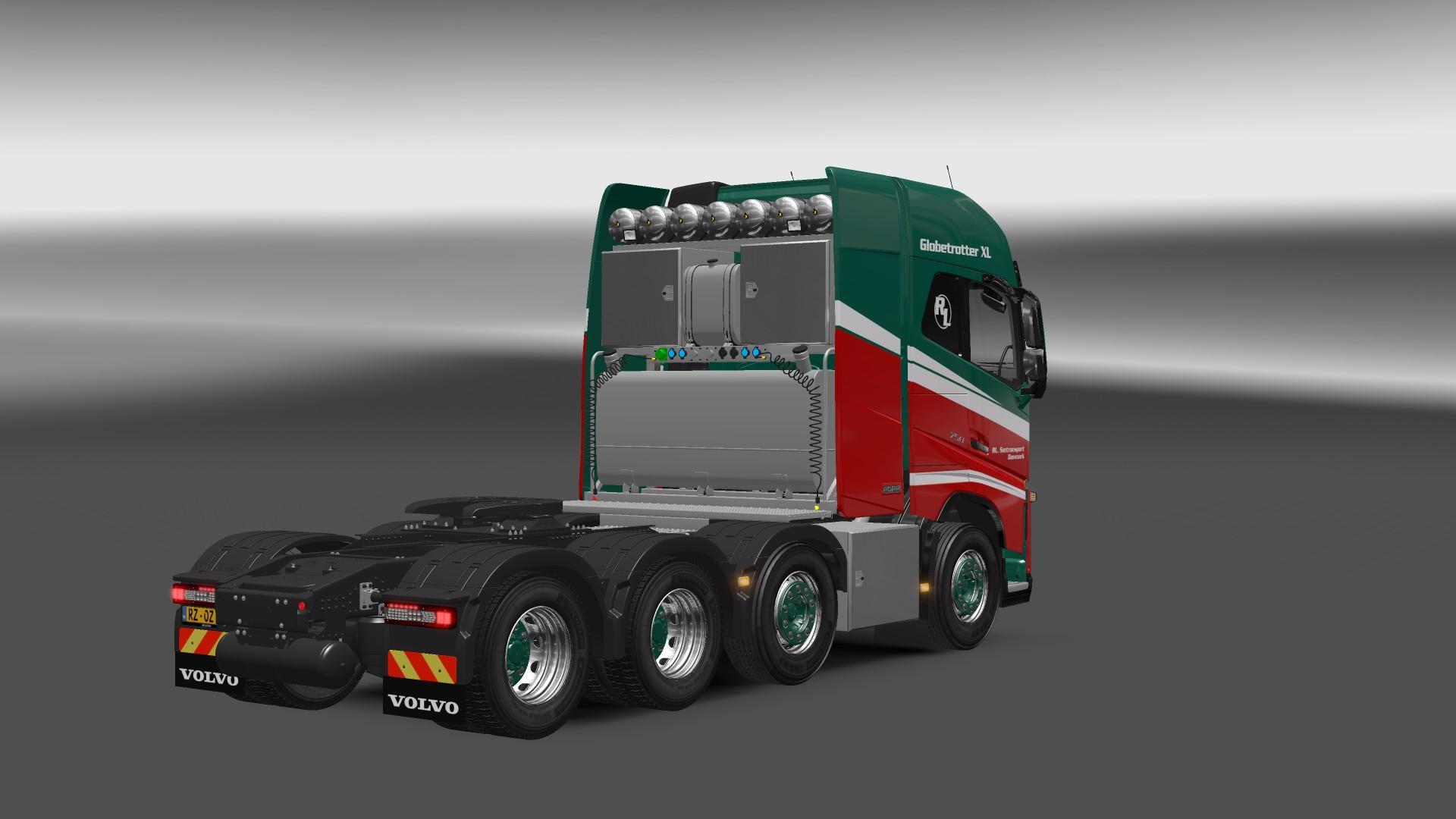 VOLVO FH 2013 8X4 1.22 Truck -Euro Truck Simulator 2 Mods