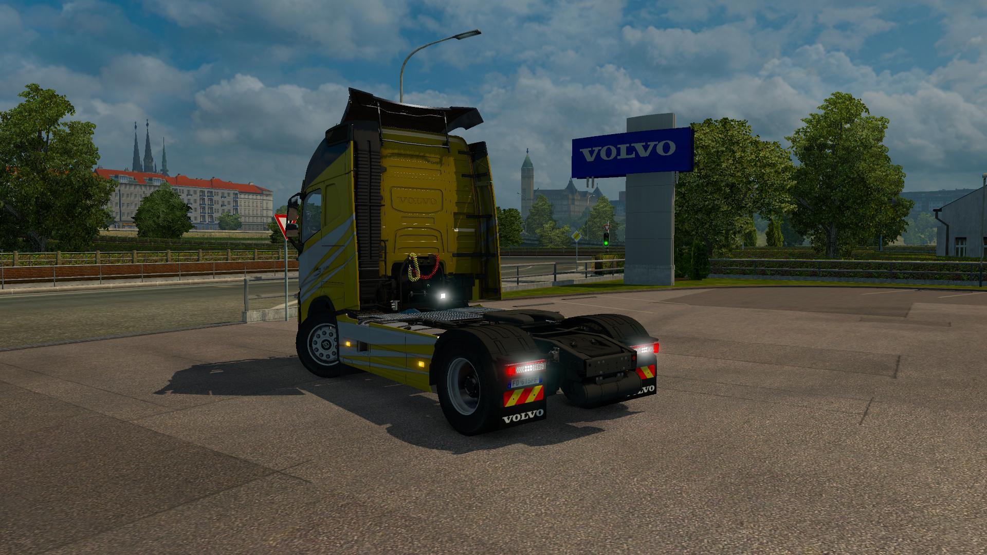 VOLVO FH540 2013 V4.2 1.22.X Truck -Euro Truck Simulator 2 ...