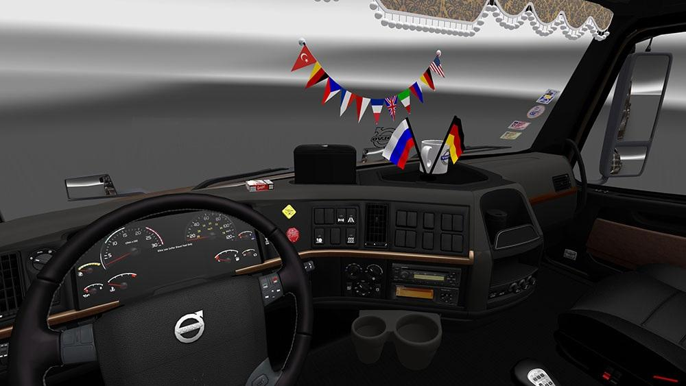 VOLVO VNL 670 INTERIOR REWORK Mod -Euro Truck Simulator 2 Mods