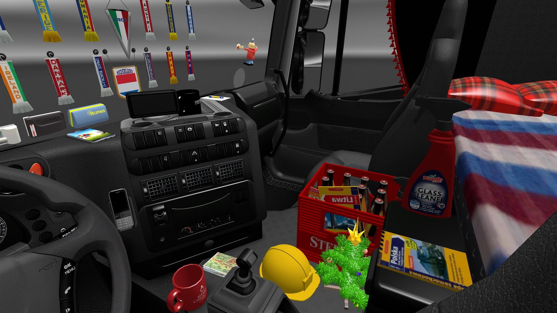 addons for dlc cabin v3 7 ets2 euro truck simulator 2 mods. Black Bedroom Furniture Sets. Home Design Ideas