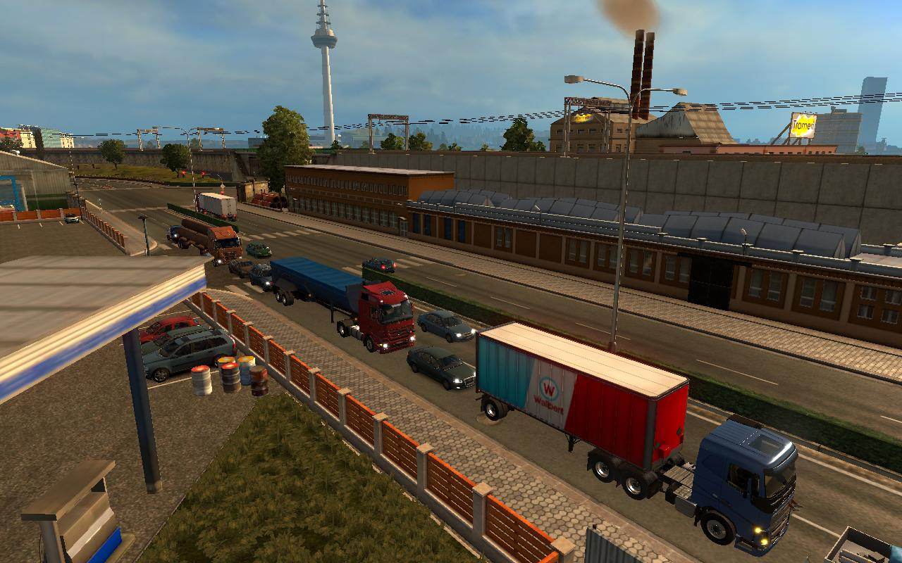 ATS TRAILERS IN TRAFFIC ETS2 1 22 Mod -Euro Truck Simulator