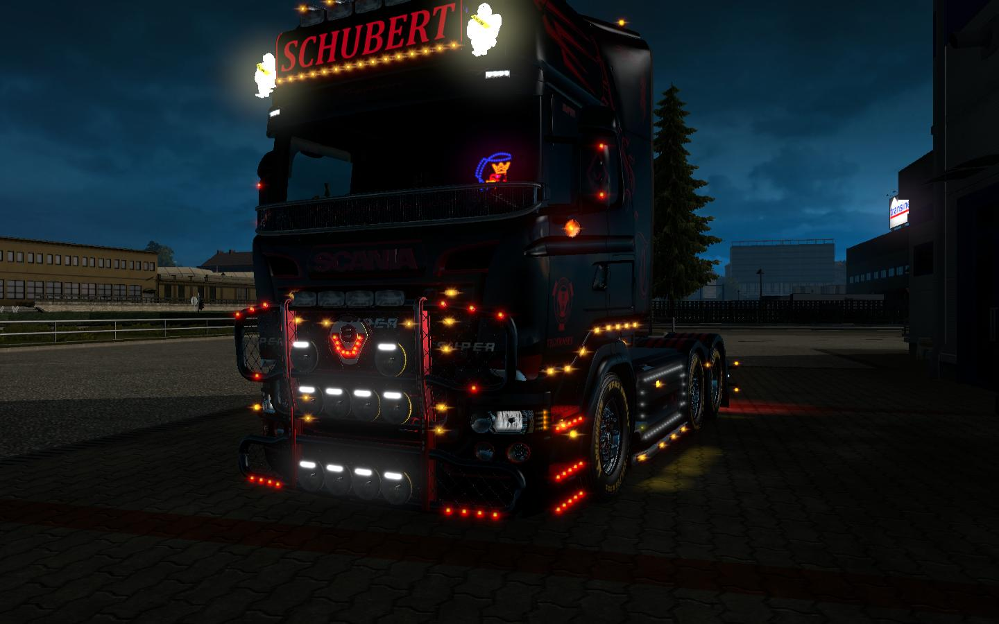 Bullbar W100 For Ets2 Euro Truck Simulator 2 Mods