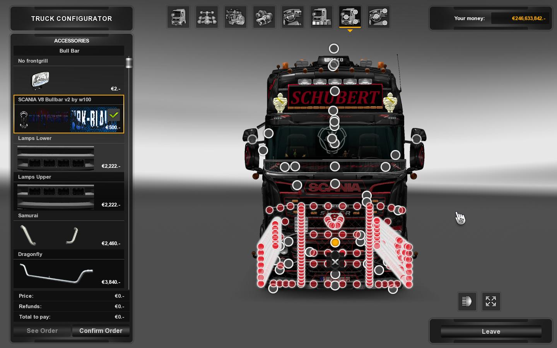 Bullbar W100 For Ets2 Euro Truck Simulator 2 Mods