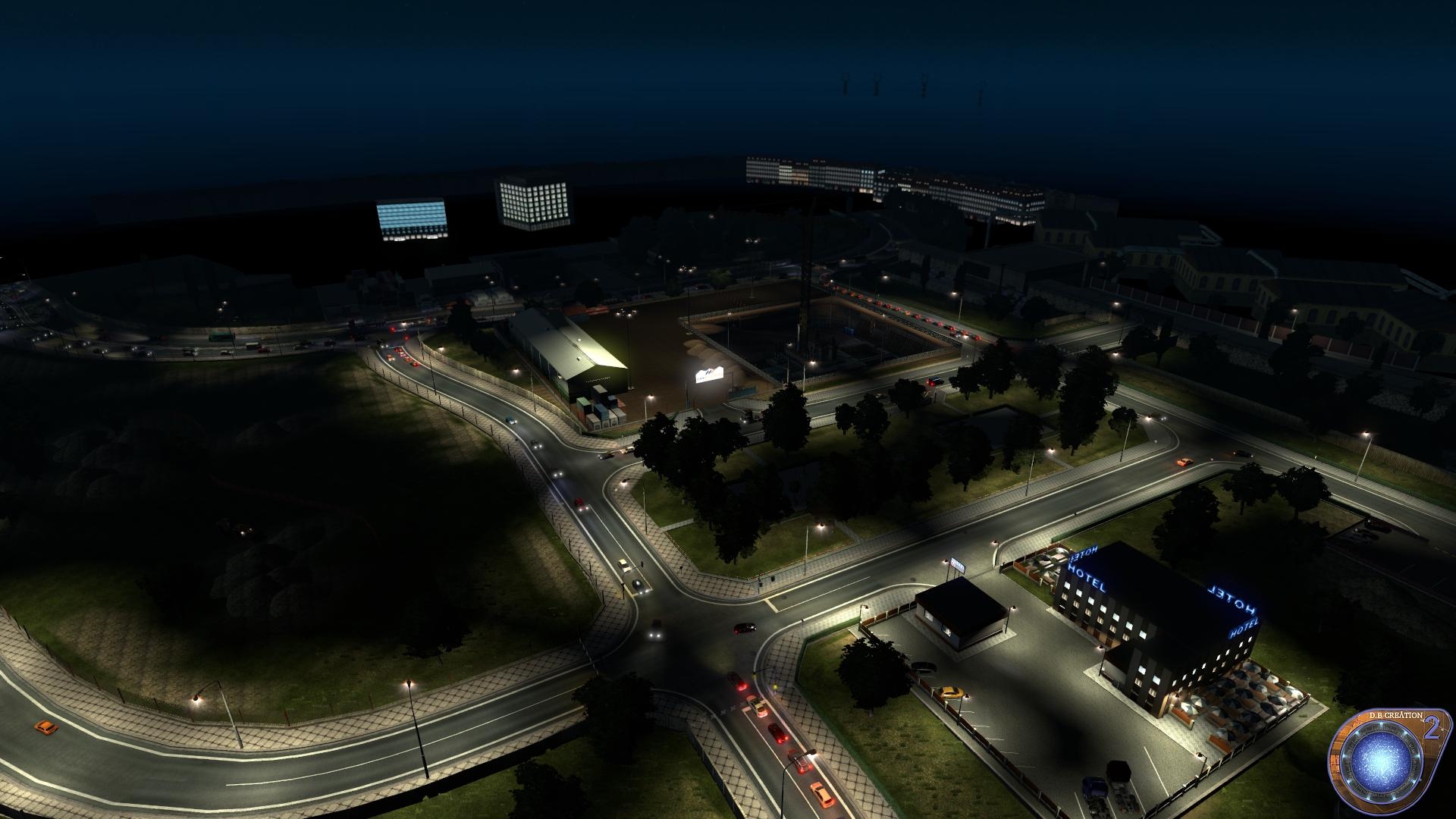 D B CREATION AI TRAFFIC MOD 5 0 For ETS2 -Euro Truck Simulator 2 Mods