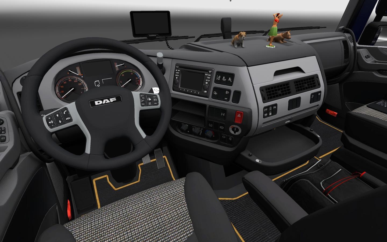 daf xf euro 6 interior mod euro truck simulator 2 mods